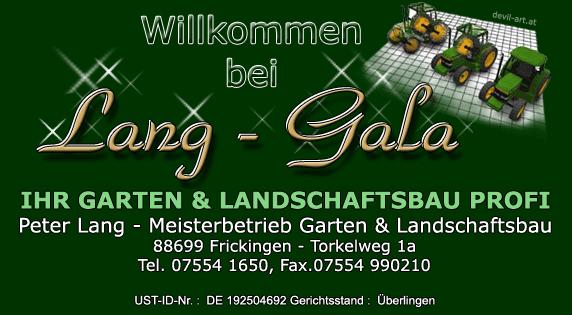 Garten und Landschaftsbau Lang Service Gartengestaltung